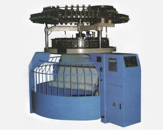 TSGE85-II multi-function cut loop pile circular knitting machine