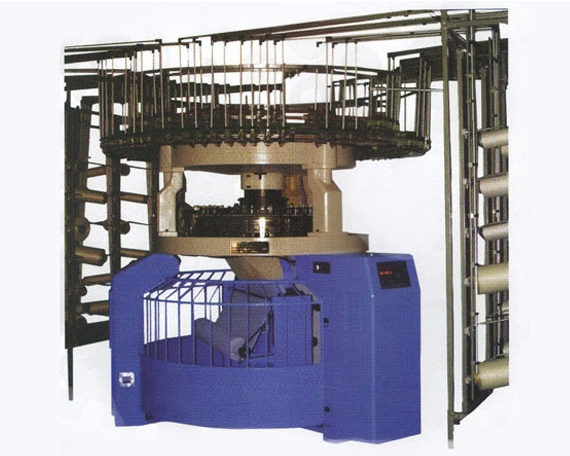 TSGE87 multi-function cut loop pile circular knitting machine